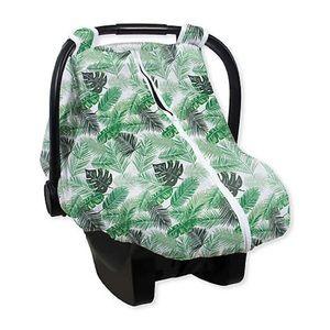 Bebe Au Lait Car Seat Cover Palms Muslin